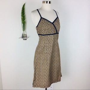 Faded Glory Cute Crisscrossed Floral Dress Size S